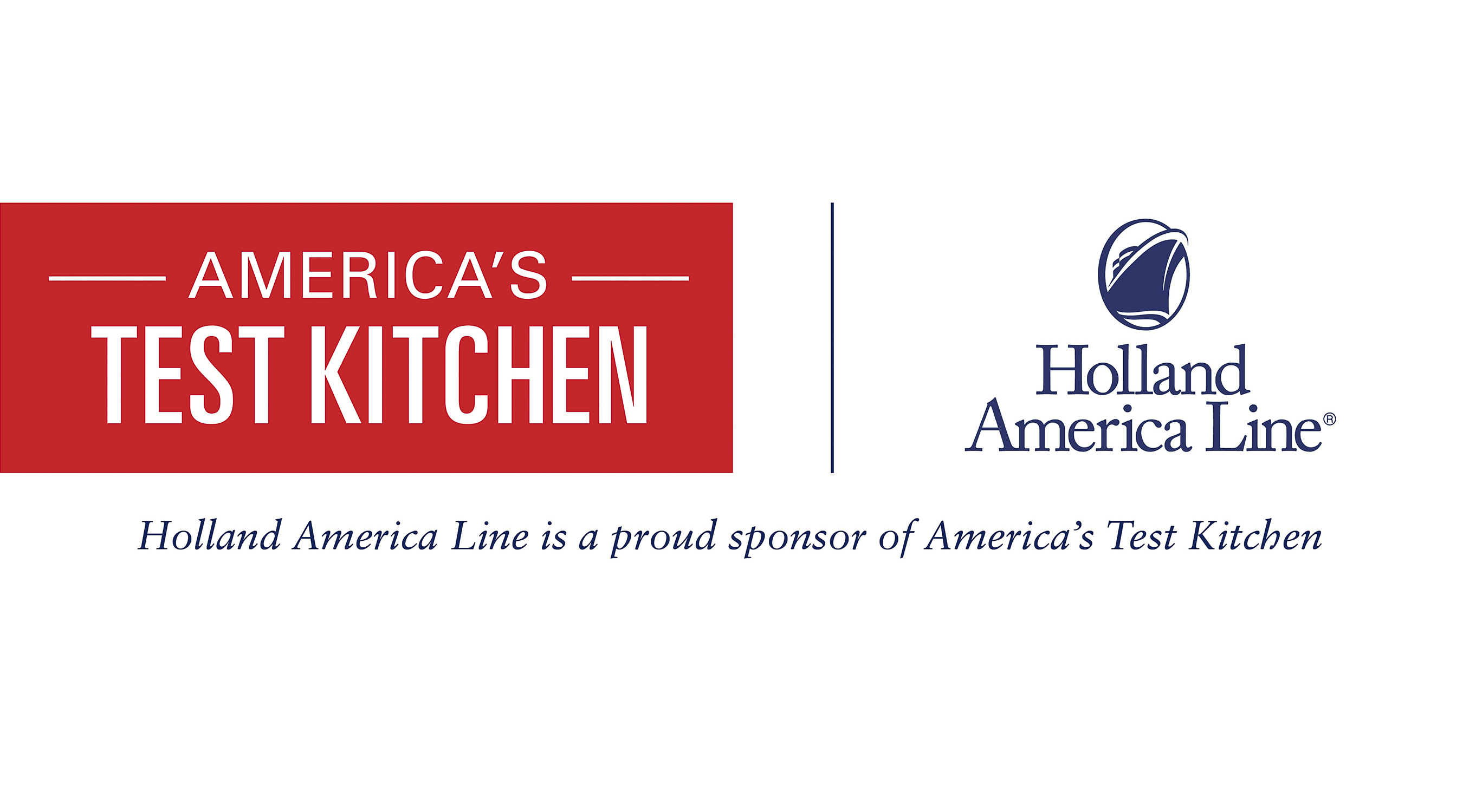 Holland America Line Launches Partnership with America's