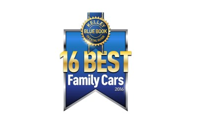KELLEY BLUE BOOK NAMES 16 BEST FAMILY CARS OF 2016
