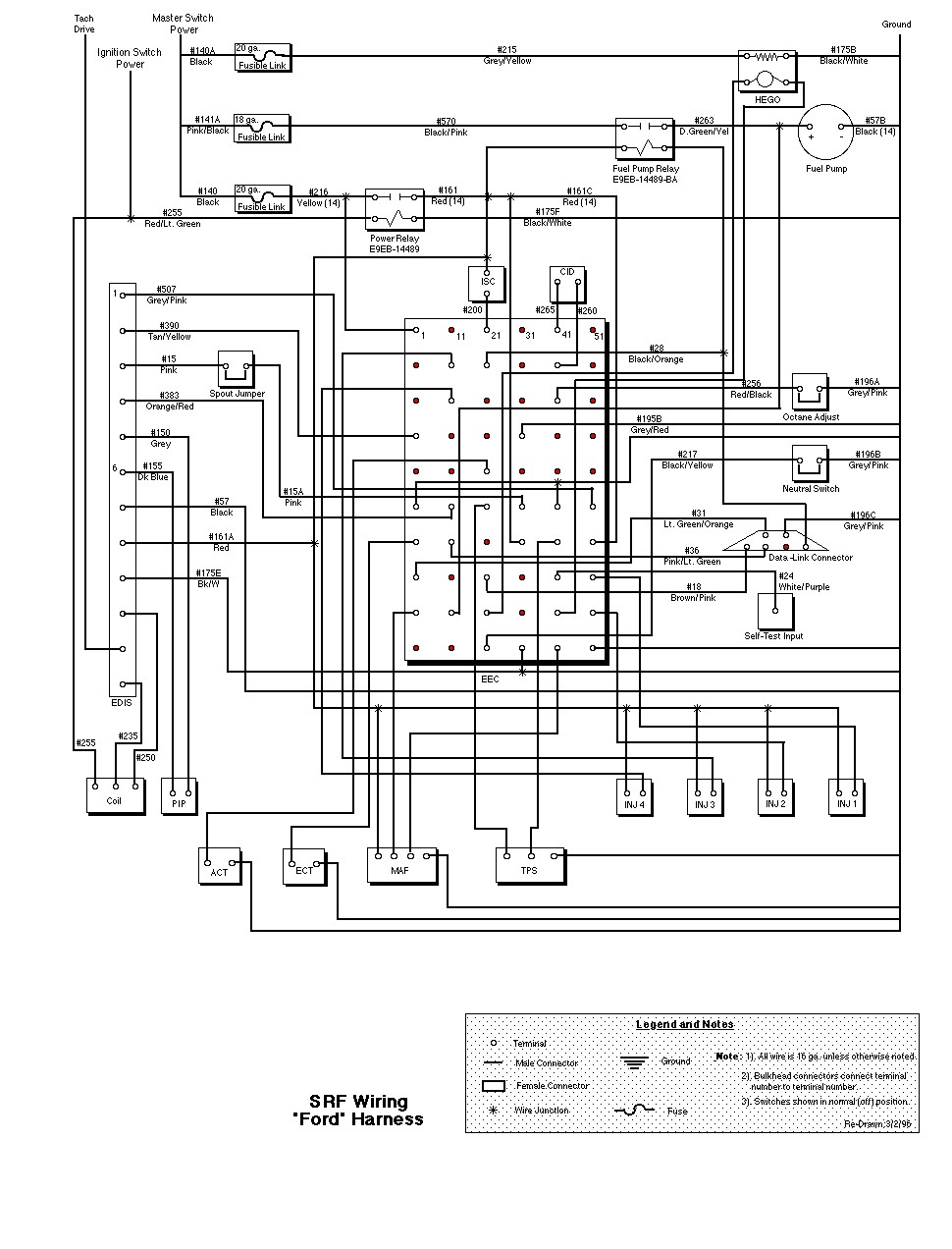 l8000 ford truck wiring diagrams