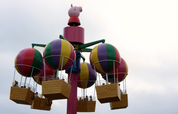peppa pig world rides Peppa's Big Balloon Ride