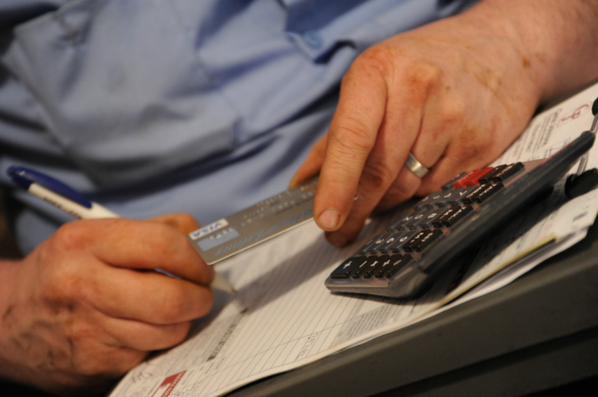tackling credit card debt by getting an overview of your finances