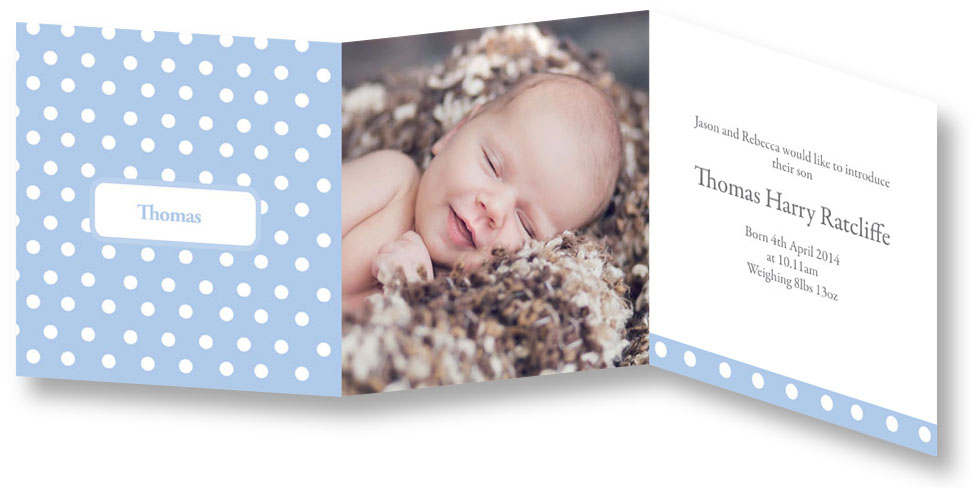 Finding stylish birth announcement cards - Mummy in the City