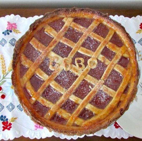 apricot crostata - mari