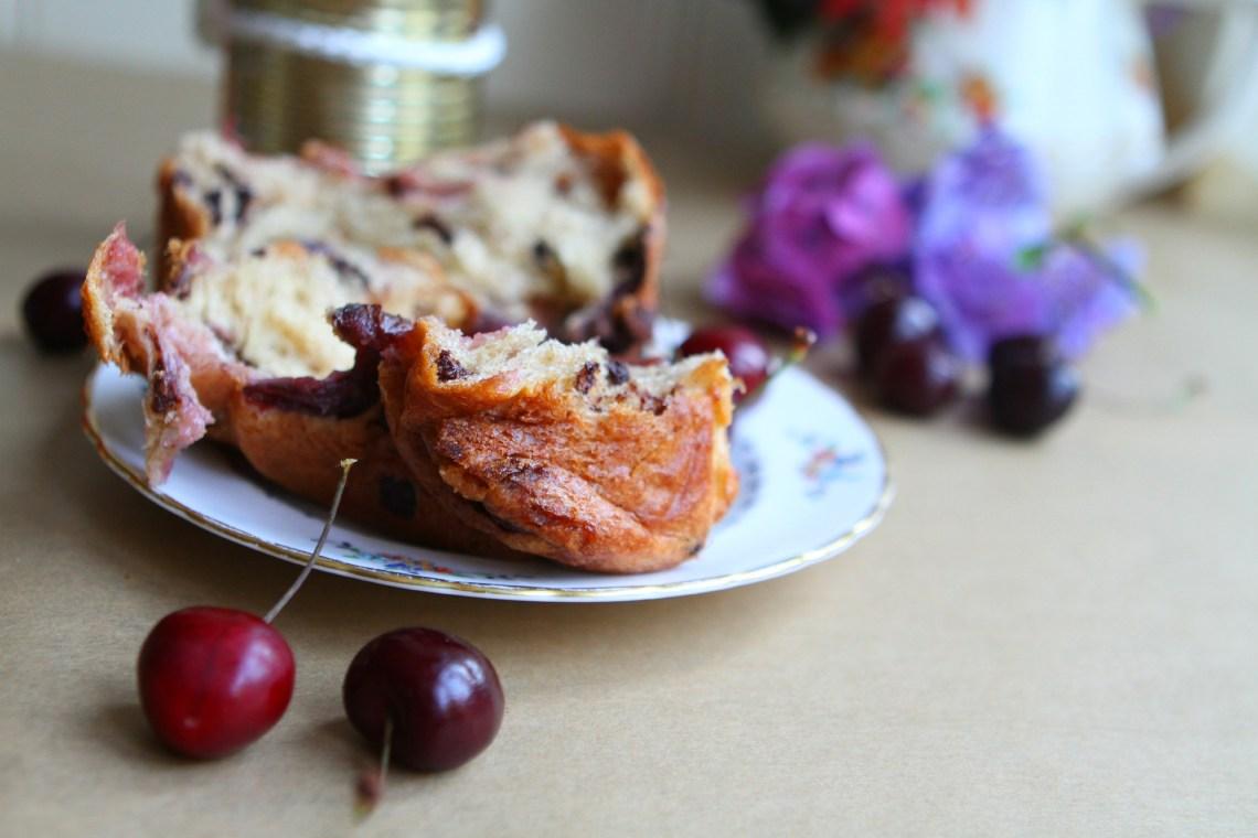 cherry panettone