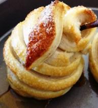 mini pear pies - white lily