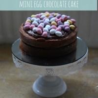 Mini Egg Chocolate Cake