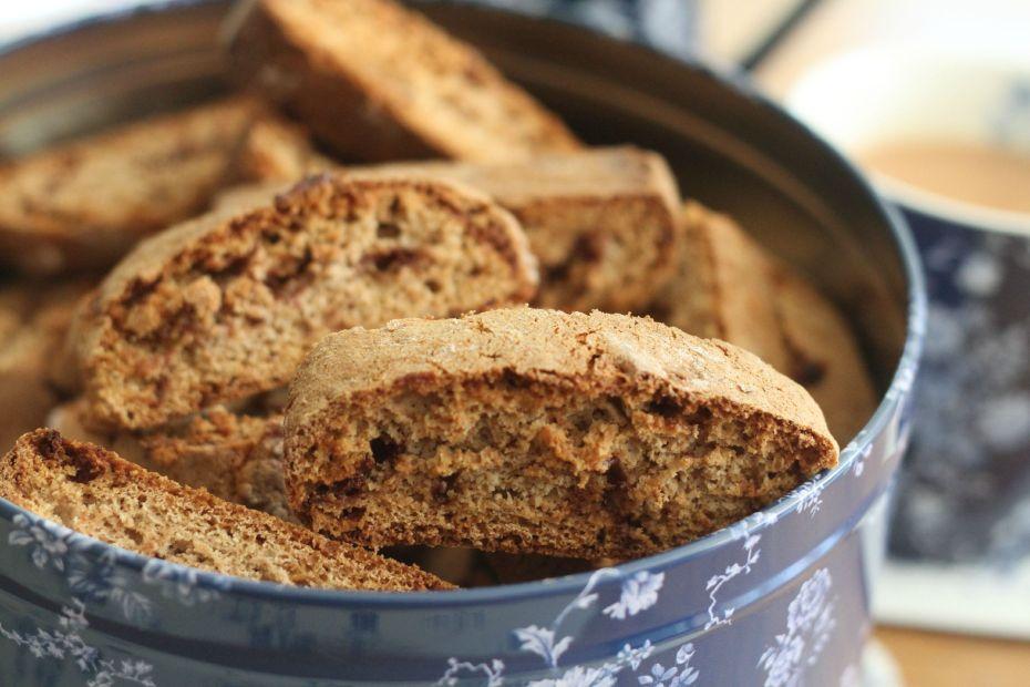 biscotti close up