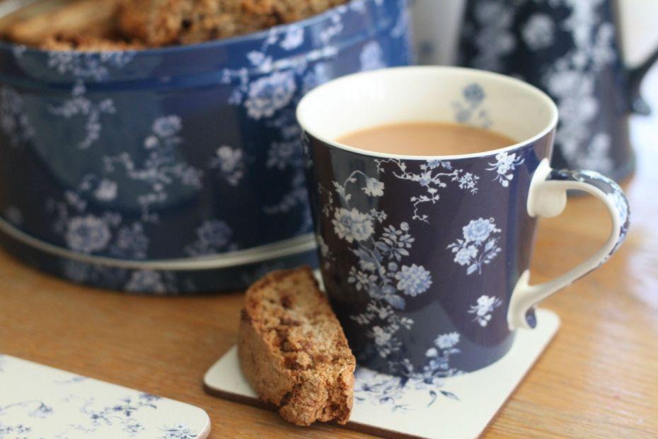 biscotti next to mug