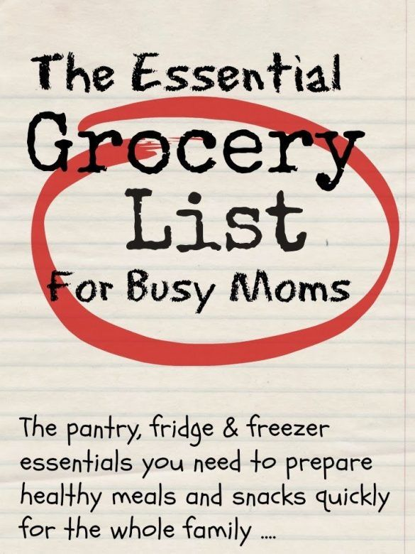 How to create your essential grocery list Mums Make Lists