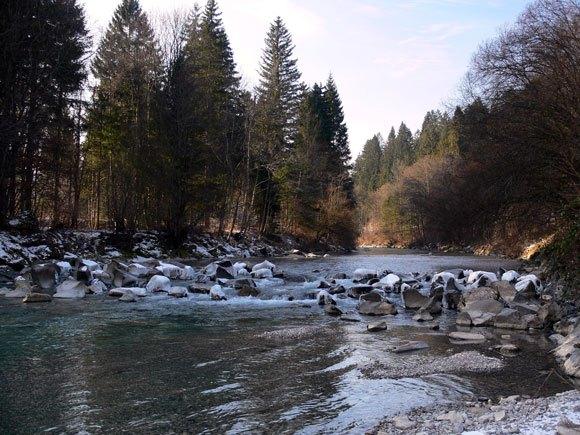 Гармиш-Партенкирхен - Река Лойзах