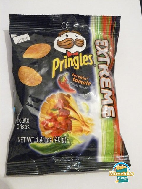 Extreme Pringles Torchin Tamale Crisps Review Munchies Blog