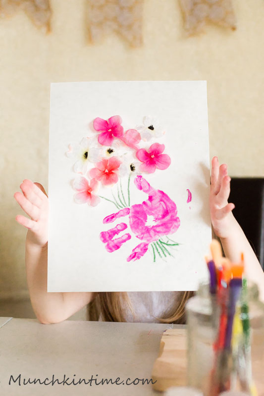 3 Handprint Gift Ideas for Mother's Day