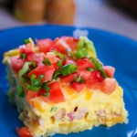 Must Try Hashbrown Ham and Cheese Breakfast Casserole