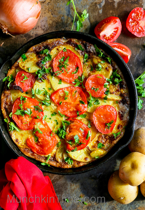 Ingredient Spanish Omelette Recipe so easy to make, it will be ...