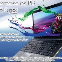 Formateo de PC por 35 Euros
