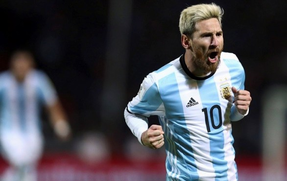 Messi goal Argentina vs Uruguay