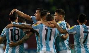 Argentina Goal Celebration