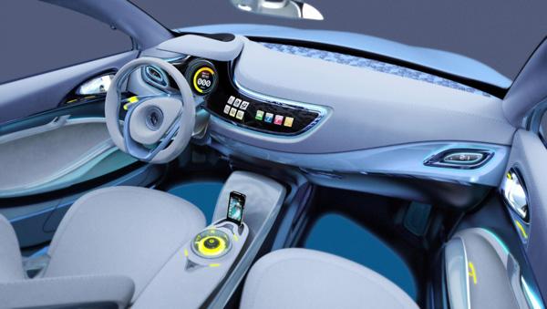 Renault Fluence electrico 9a