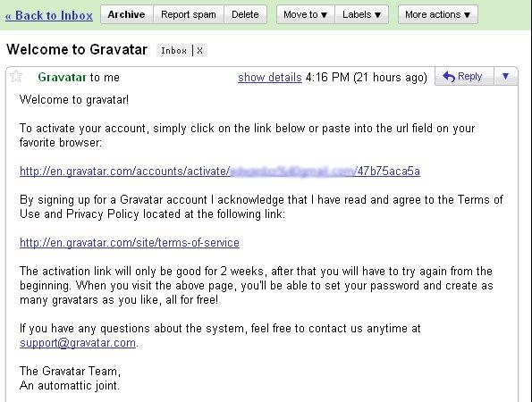 gravatar-email-confirm