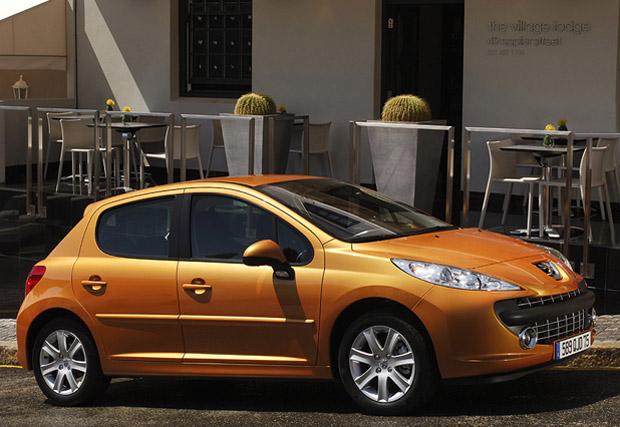 Peugeot-207 a ser reemplazado en 2012 -2013