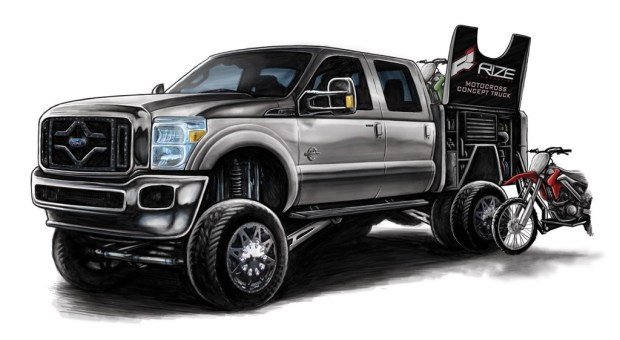 5-Rize Industries Ford F-350 for SEMA