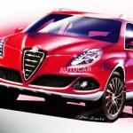 Alfa Romeo Crossover 2013 boceto