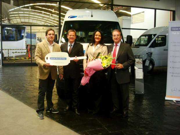 Mercedes Benz Sprinter Entrega flota Adrogue Bus