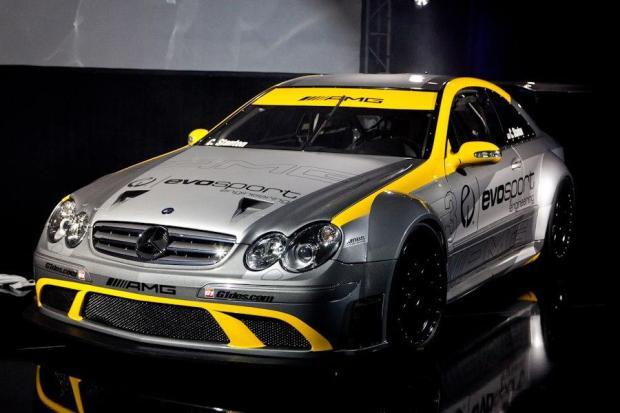 Mercedes Benz CLK 63 AMG Black Series race car by MBBS Evosport 01