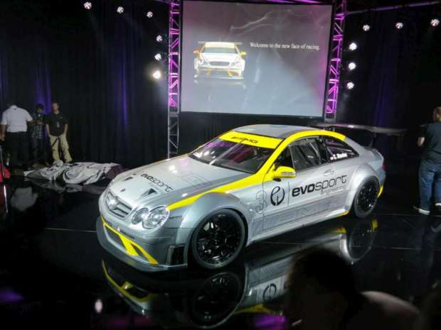 Mercedes Benz CLK 63 AMG Black Series race car by MBBS Evosport 05