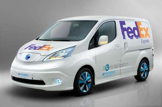 Nissan e-NV200 panel van concept 2012 05