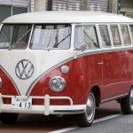 Volkswagen Kombi (T1 Samba) Primera version