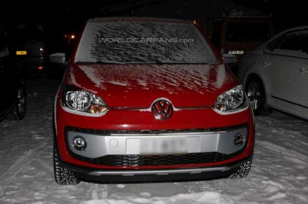 Volkswagen Cross Up!  fotos espia 2013 03