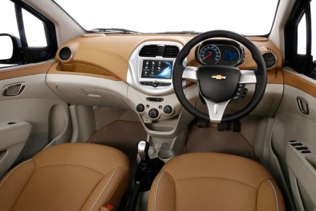 Chevrolet Essentia Interior- Dash Board and Steering