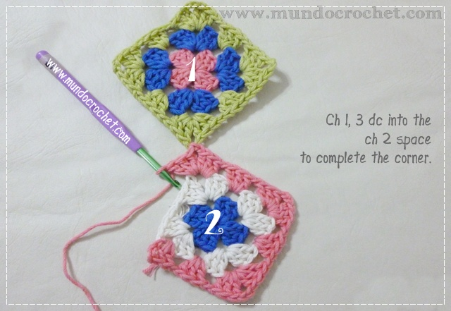 How to join granny squares3