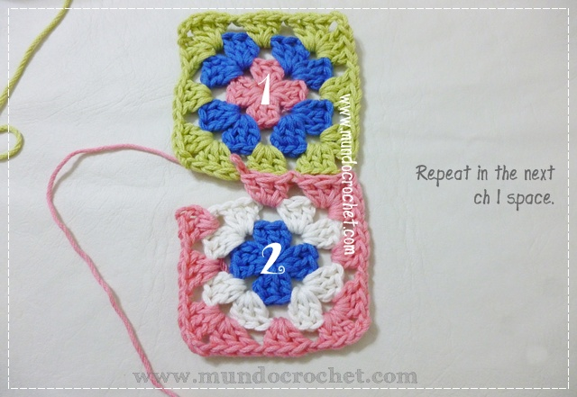 How to join granny squares5