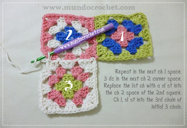 How to join granny squares9