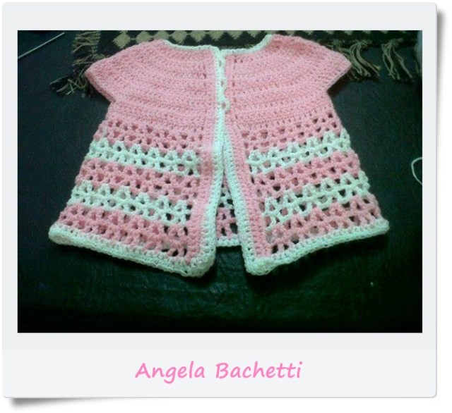 Campera, saquito, chambrita, chaleco crochet o ganchillo1