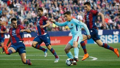 Levante - Barcelona: Resultado y goles