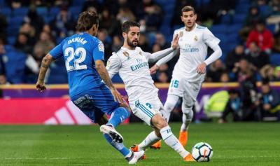 Real Madrid - Getafe: Resultado y resumen, hoy en directo online