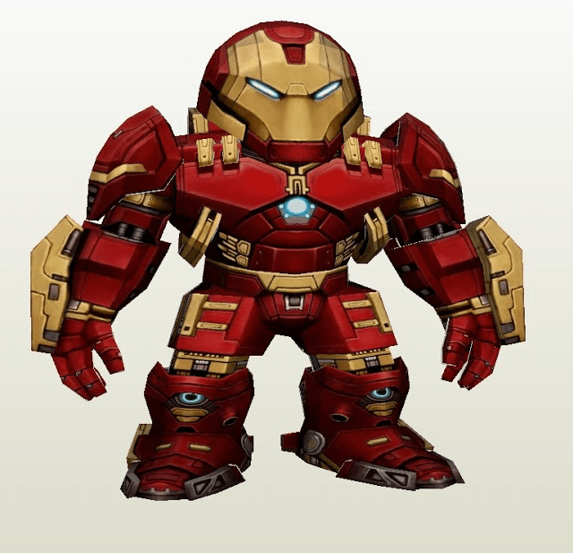 Wallpaper Coca Cola 3d Hulkbuster Papercraft
