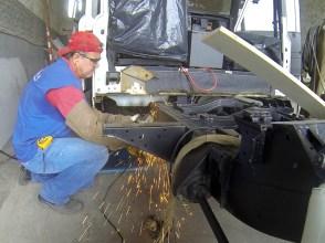 Preparação do chassis
