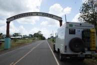 Foi até onde acaba a estrada em Darien, Panamá