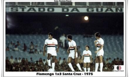 O dia em que o Flamengo de Zico perdeu para o Santa Cruz