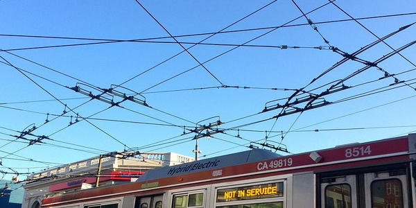 Hip hip hooray! The Muni wires will stay!
