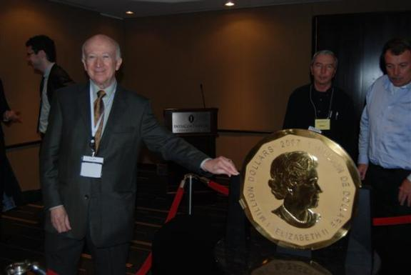 World's First 100-kg, 99999 Pure Gold Bullion Coin