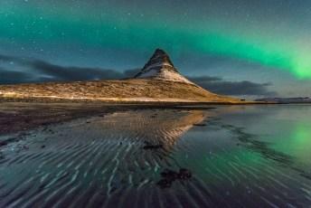 Kirkjufell-Aurora