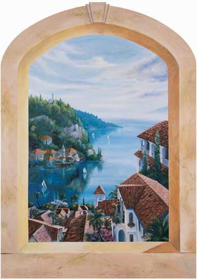3d Wallpaper For Kid Bedroom Mediterranean Villas 20266