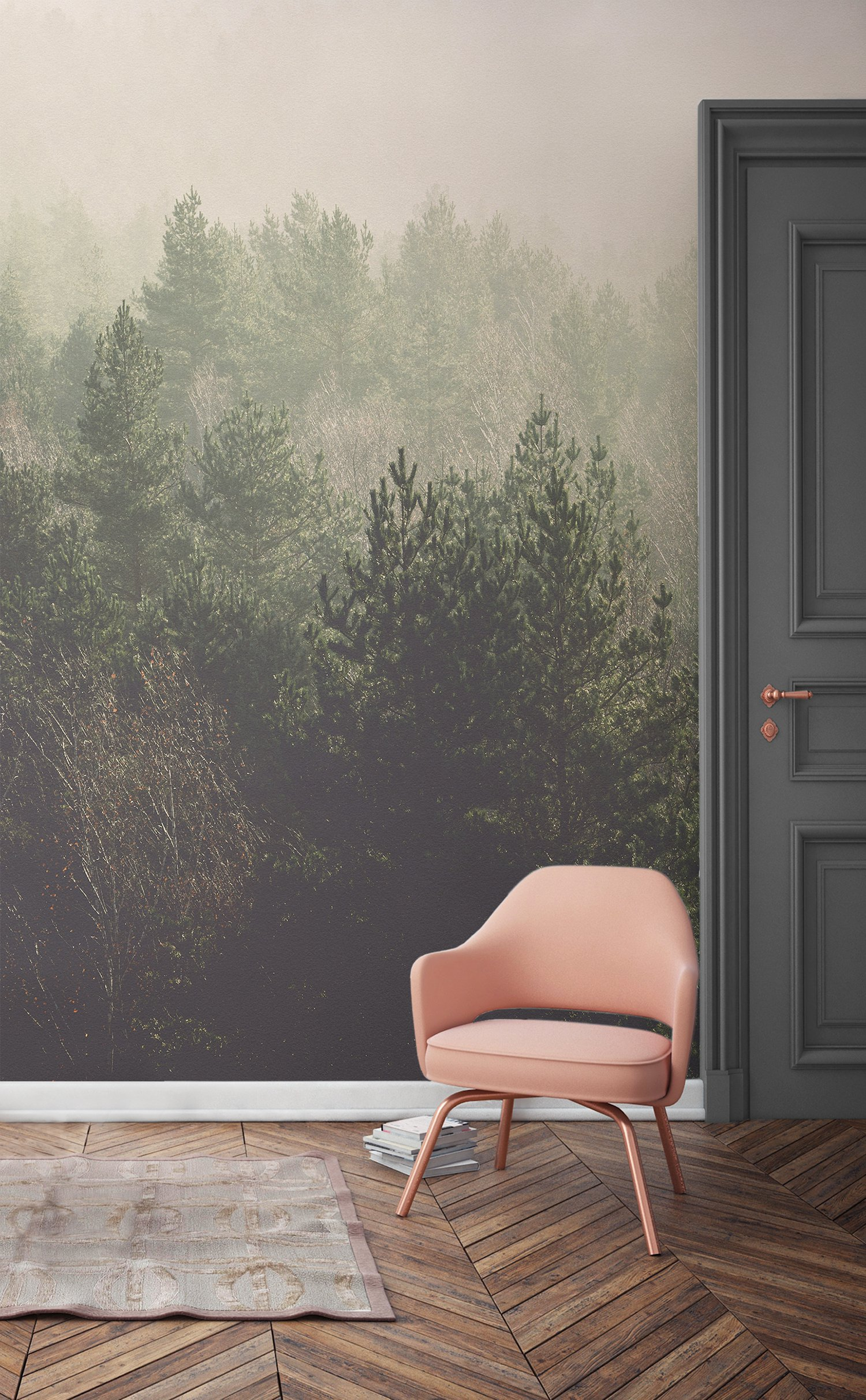 Red And Black Graffiti Wallpaper 11 Forest Wallpapers That Will Breathe Life Into Your Home