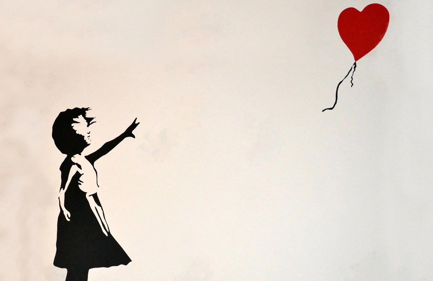 Girl Wallpaper App Banksy Balloon Girl Wallpaper Wall Mural Muralswallpaper