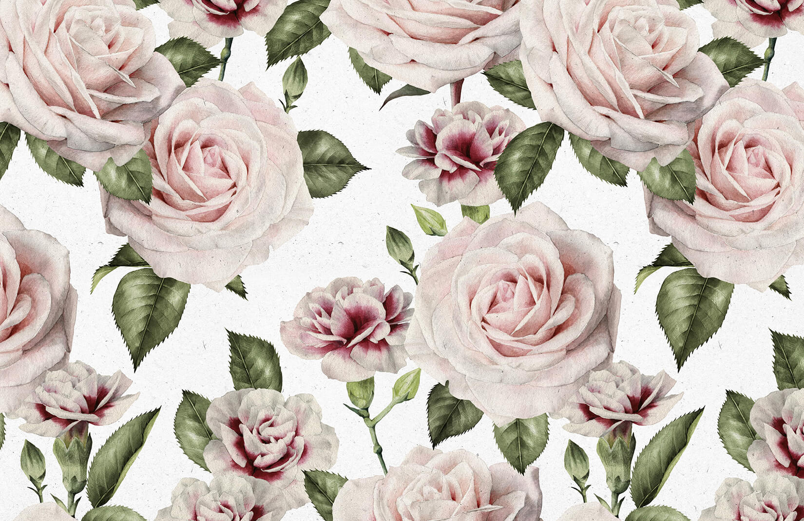 Vintage Car Design Wallpaper Vintage Roses And Carnation Wallpaper Murals Wallpaper